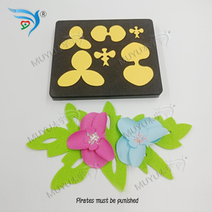 Image 2 - FLOWER cutting dies & wooden die scrapbook cut sky Compatible with most machines