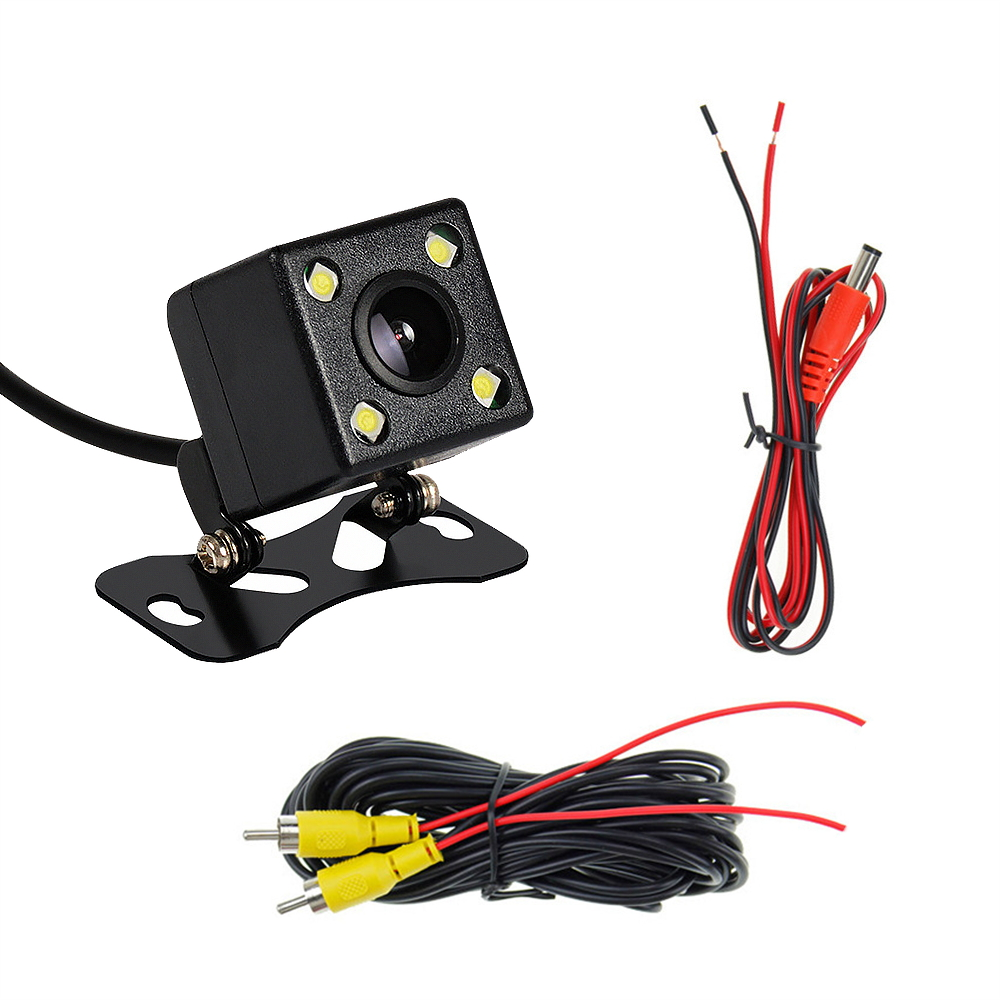 ZLTOOPAI Car Rear View Camera Universal Backup Parking Camera LED Night Vision Waterproof 170 Wide Angle HD Color Image