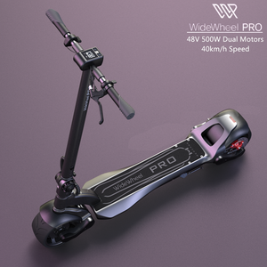 2020 Newest Mercane WideWheel Pro Kickscooter Electric Scooter Wide Wheel Dual Motor Disc Brake Skate Hoverboard 48V 1000W