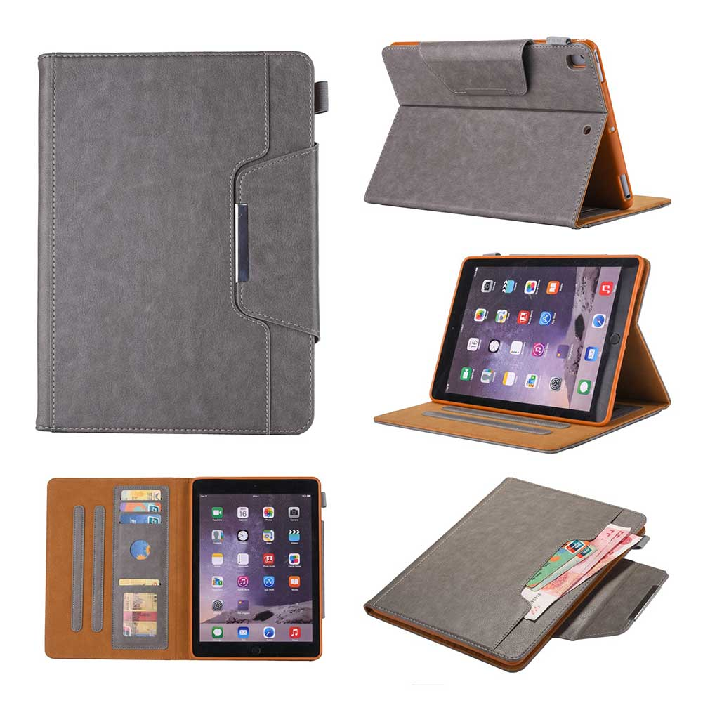 Gray Green Leather Case For Apple iPad 10 2 2019 7 7th Generation A2197 A2200 A2198 A2232 Cover