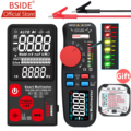 BSIDE Verbeterde Digitale Multimeter Kleur LCD Digitale Multimeter 6000 Telt TRMS Auto-Range Voltage Amp Ohm Hz Cap Temp diode