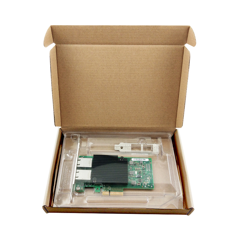 Hot sale X550-T2 10G Dual port RJ45 PCIe3.1 X8 Network Card Intel X550 5
