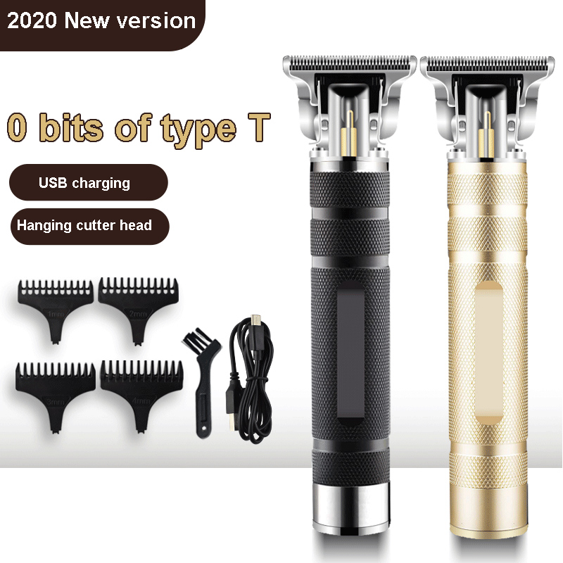 T-0 машинка для стрижки волос, электрический триммер для волос, Беспроводная Бритва, триммер для мужчин, Парикмахерская Машинка для стрижки в...