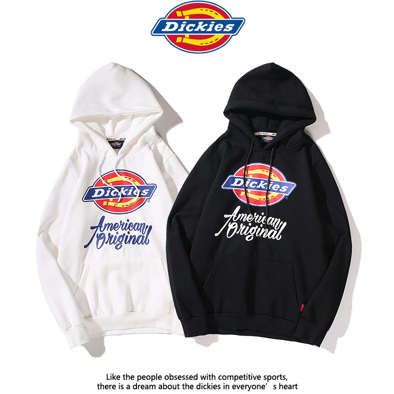 2019 Autumn And Winter Brushed Di Ke New Style Logo Printed Pure Cotton Hooded Popular Brand Hoodie Students Men And Women Celeb