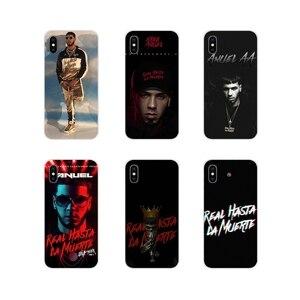 Anuel aa FreeAnuel аксессуары чехлы для телефонов Чехлы для Apple IPhone X XR XS MAX 4 4s 5 5S 5C SE 6 6S 7 8 Plus ipod touch 5 6