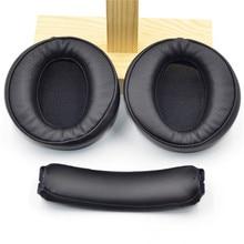 Soft Memory Foam Ear Pads เบาะสำหรับ Sony MDR XB950 XB950 BT หูฟังคุณภาพสูง 23 AugT8