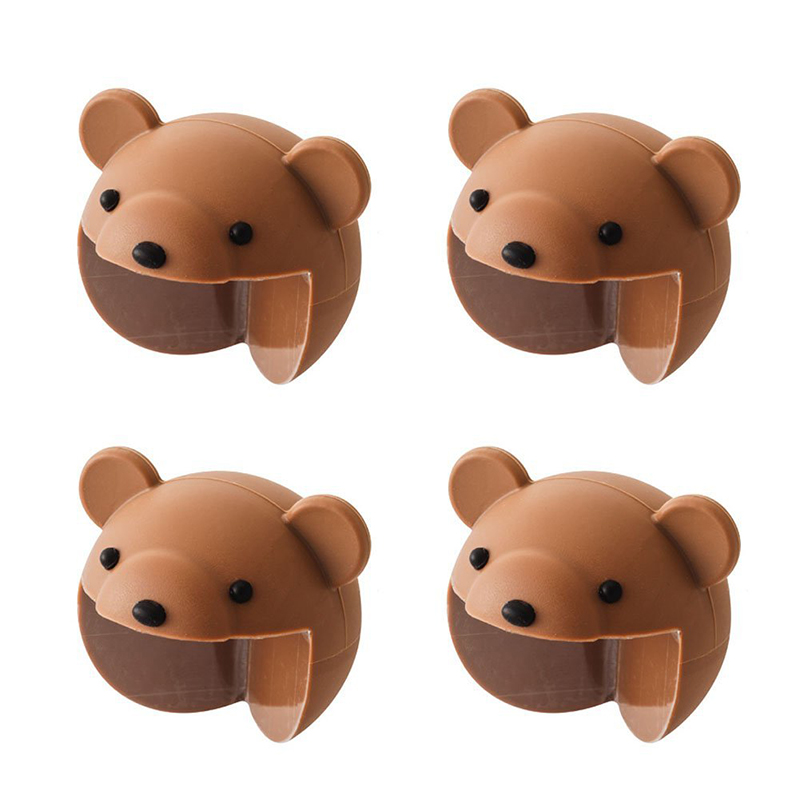 Cute Corner Cushion 4 Pieces Set Corner Pad Corner Protector Animal Baby Safety Measures For Children's Kids