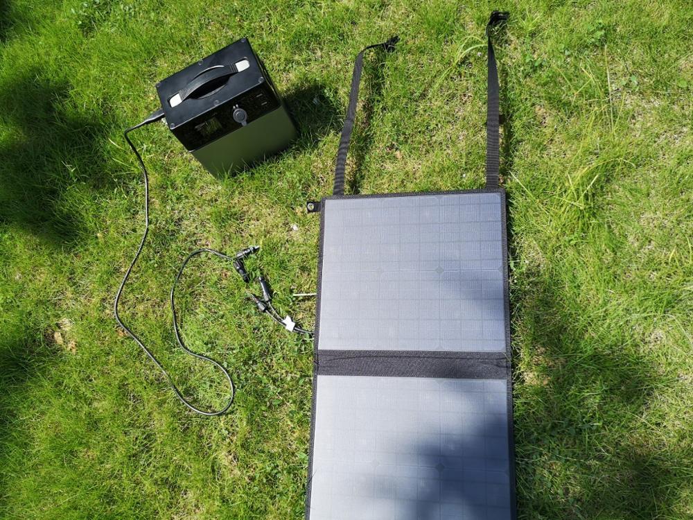 Solar panel-show