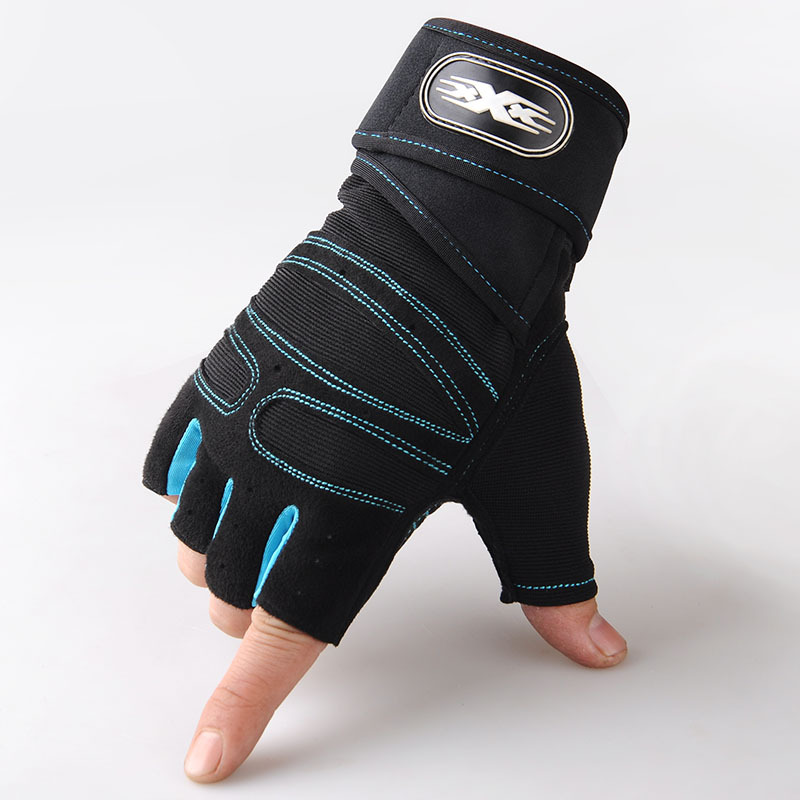 Unisex Half Finger Sports Gloves For Running Jogging Hiking Cycling Bicycle Gym Fitness Weightlifting Nonslip