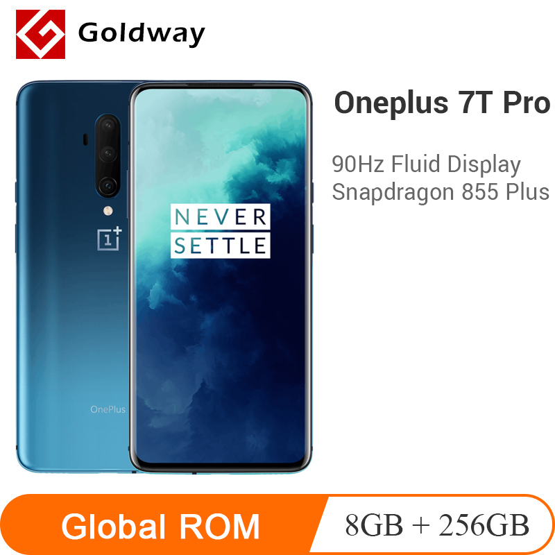 OnePlus 7T Pro 8GB 256GB Smartphone Snapdragon 855 Plus 6.67'' Fluid AMOLED 90Hz Screen 48MP Camera 4085mAh Warp Dash Charge 30T(Hong Kong,China)