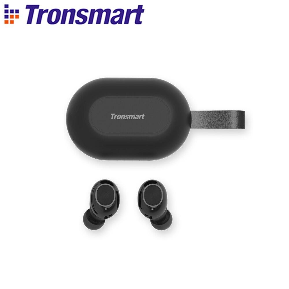 [Neueste Version] Tronsmart Spunky Beat TWS Bluetooth Kopfhörer QualcommChip APTX Drahtlose Ohrhörer mit Volumen Control