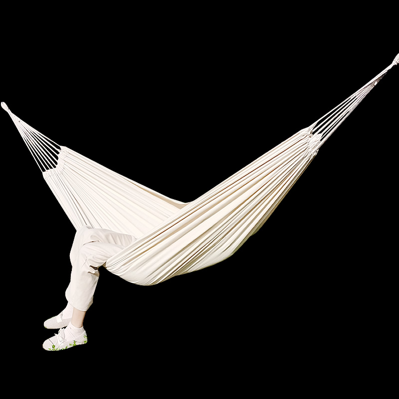 Swing-Bed Hammock Hanging Fabric Patio Double-Hammock Travel Outdoor Camping Canvas Hiking