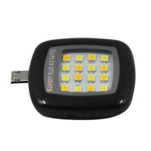 New arrival 16pcs LED Mini Flash Fill Light For Mobile Phone