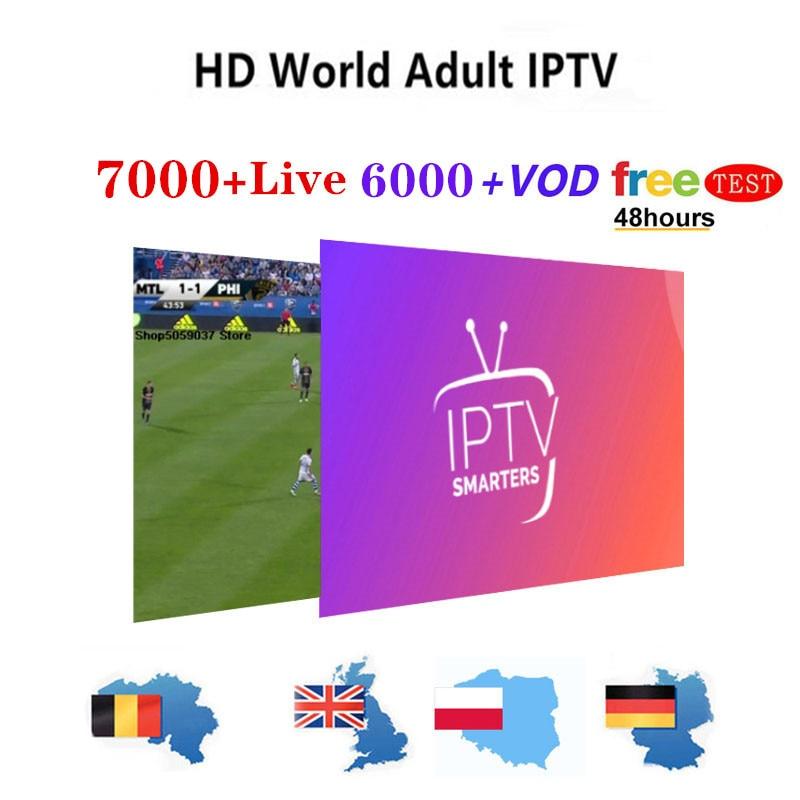 Europe IPTV Subscription Rocksat Nordic Frae UK German Arabic Dutch Sweden Fre Poland Portugal Smart TV IPTV M3U 7400 Live