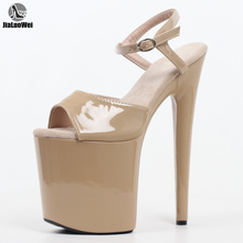 Platform Sandals Party-Shoes Pole Dance Exotic Stiletto Ankle-Strap Fashion JIALUOWEI