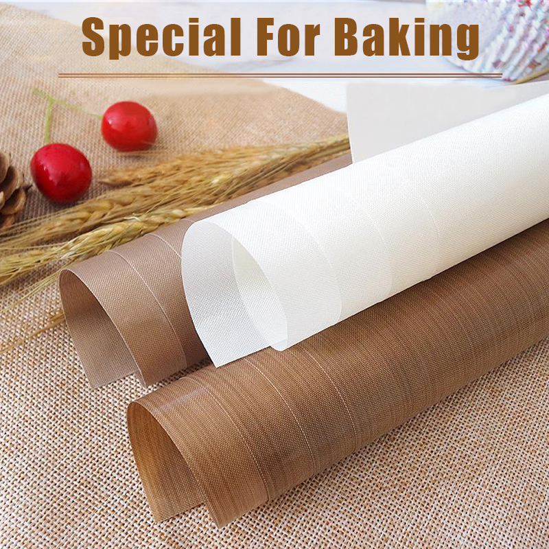 Pastry Baking-Mat Heat-Resistant-Pad BBQ Outdoor Non-Stick Reusable for Oilpaper