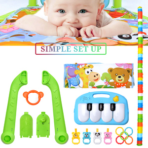 Image 2 - 16 Styles Baby Music Rack Play Mat Kid Rug Puzzle Carpet Piano Keyboard Infant Playmat Early Education Gym Crawling Game Pad Toy