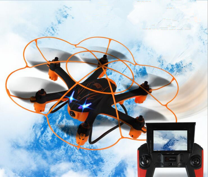 5.8G real time transmit FPV RC Drone with HD camera One Key Return Headless Mode RC Quadcopter RTF vs X8G X5UW rc toys gifts - 2