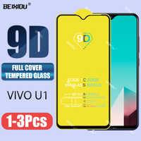 Nuevo vidrio templado 9D para Vivo U1 Protector de pantalla completo vidrio templado para Vivo u1 película de vidrio