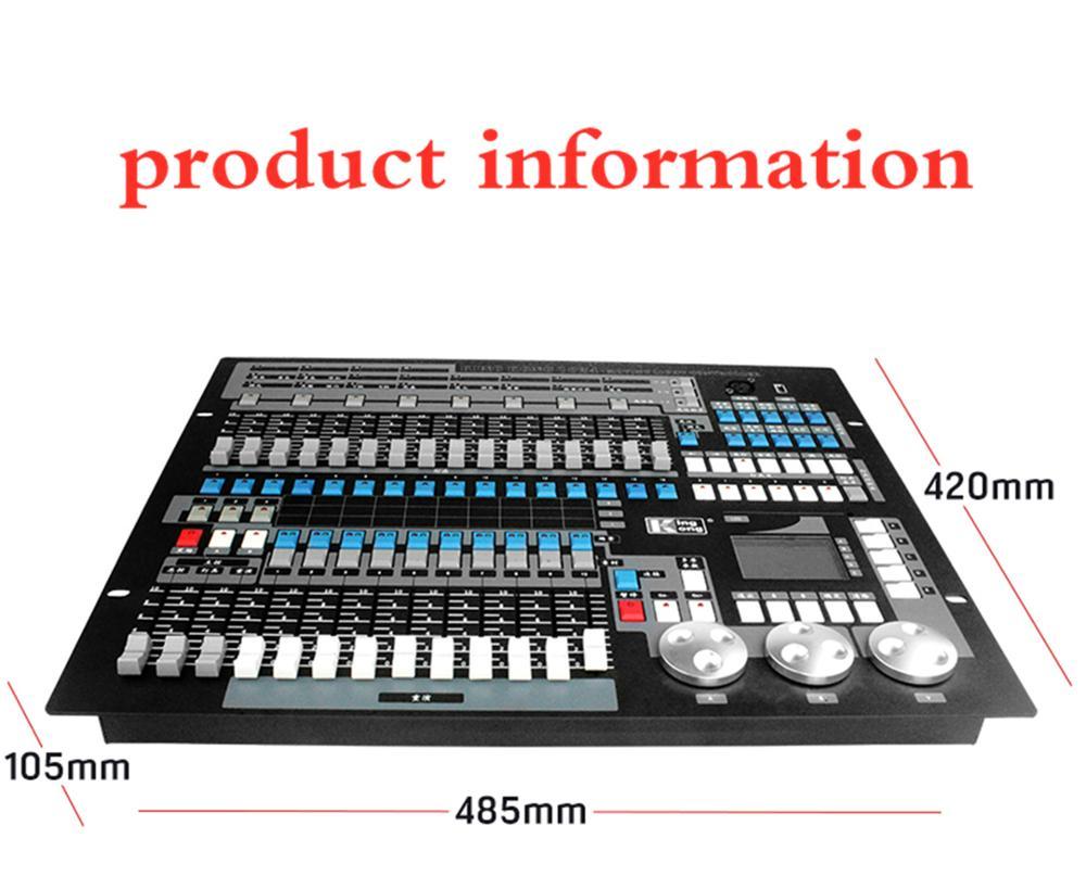 F & G2 unids/lote equipo de luz de escenario DMX Conlose 1024 controlador de iluminación luz de escenario Control de la cabeza móv