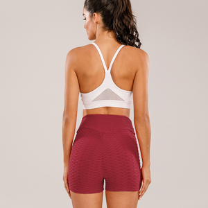 Женские шорты с высокой талией ATHVOTAR, сексуальные шорты для фитнеса, спортивные шорты для бега