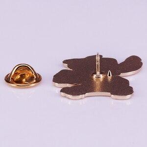 Ститч dole плеть эмаль pin дети мультфильм Рождественский подарок