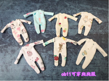 Can Be Used For Cu-poche OB11 Doll Accessories Doll Bodysuit Clothes Obitsu11 OB11 1/12 Doll Bodysuit