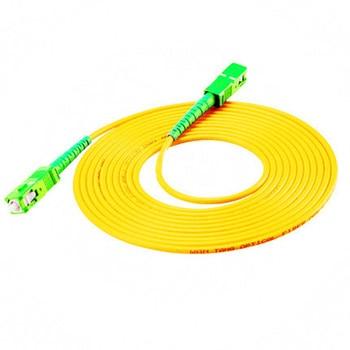 10PCS/bag SC/ APC-SC/ APC Simplex mode fiber optic patch cord Cable 2.0mm or 3.0mm FTTH fiber optic jumper cable sommer cable sc goblin white