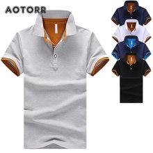 Haute Qualité 2021 Nouveaux Hommes Manches Courtes Polos Chemises Décontracté-Conception Marque Coton Polos Homme Mode Vêtements De Sport D'été Mâle Hauts