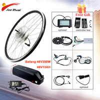 Bafang 48V 350W Elektrische Fahrrad Getriebe Hub Motor Vorderrad Electric Bike Conversion Kit für 26 700C E Fahrrad Bafang eBike Kit