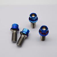 auto spare parts titanium alloy wheel hub bolt for Benz m14*1.5*28 (20 pieces)