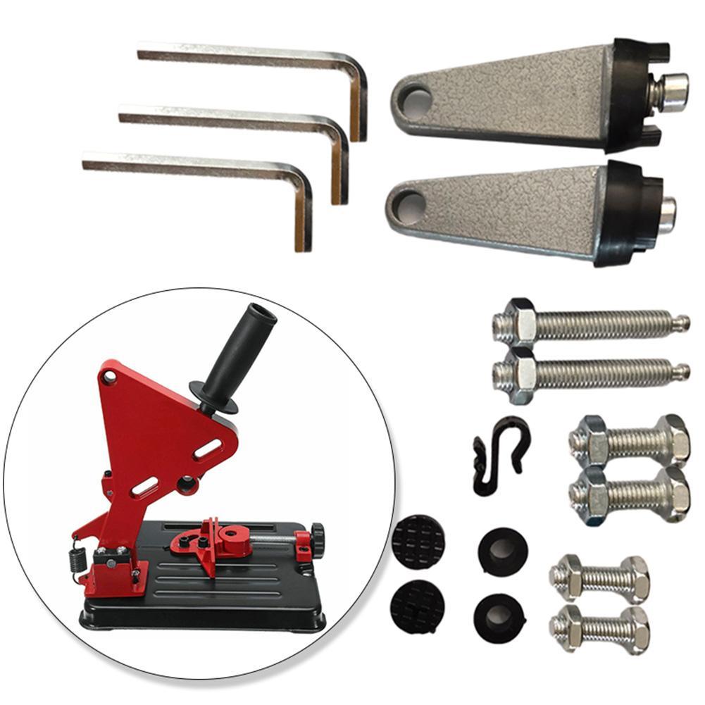 Universal multi-ângulo moedor acessórios da máquina moedor ajustável suporte suporte moedor de ângulo