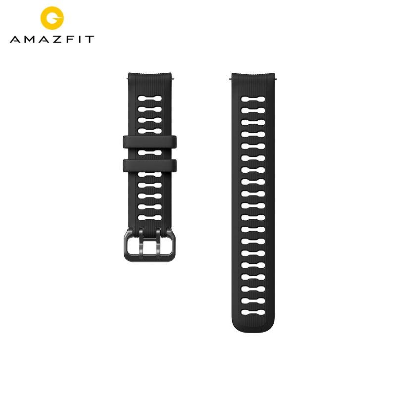 Pulseira de Relógio Esporte para Xiaomi Original Largura Silicone Pulseira Huami Amazfit Gtr Ritmo Stratos Gts Bip Lite Relógio Inteligente 22mm 20mm