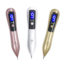 LCD Plasma Pen Tattoo Mole Removal Machine 9 Level LED Lighting Face Care Tag Removal Laser Freckle Pen Wart Dark Spot Remover