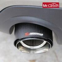 Tubo de escape do carro decoração exterior acessórios modificação silenciador para bmw mini um cooper s f54 f55 f56 f57 f60 estilo do carro