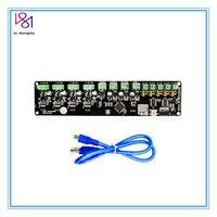 Placa de controle da impressora 3d kit diy partreprap melzi 2.0 1284 p placa pcb impressora 3d ic atmega1284p acessórios para prusa i3|Peças e acessórios em 3D| |  -