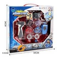 Caja Original Beyblade Burst para la venta fusión de Metal 4D BB807D con lanzador y arena Spinning conjunto de juguetes para niños