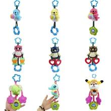 Baby Rattle Crib Hand-Bell Plush-Toys Hanging Birthday-Gifts Cartoon-Animals Christmas