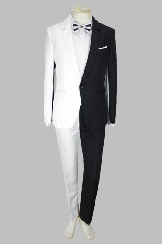Irregular Colorful Men's Suits Magician Clown Performance Stage Outfits Nightclub Male Singer Host Blazers Pants Suit Costume