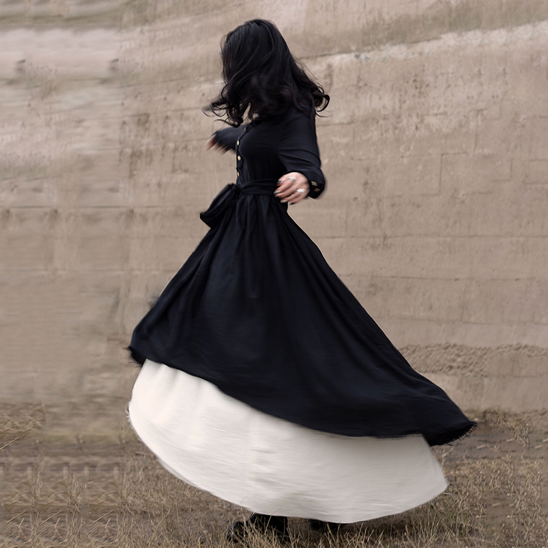 New Fashion Style Black Loose Hem Irregular Pleated Bandage Two Piece Dress Fashion Nova Clothing