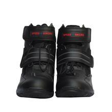 Adeeing Motorcycle Boots Biker Waterproof Speed Motorboats Men Soft Motocross Non-slip Protective Shoes