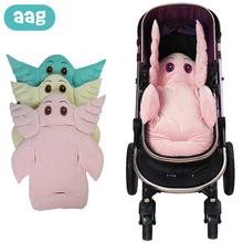 AAG Baby Stroller Accessories Baby Stroller Insert Pad Mattress in Stroller Newborn Infant Pram Liner Mat Baby Car Seat Cushion