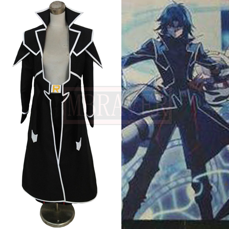 Yu-Gi-Oh! GX Marufuji Ryo Zane Truesdale Cosplay Costume Cos Halloween Party Custom Made Any Size(China)