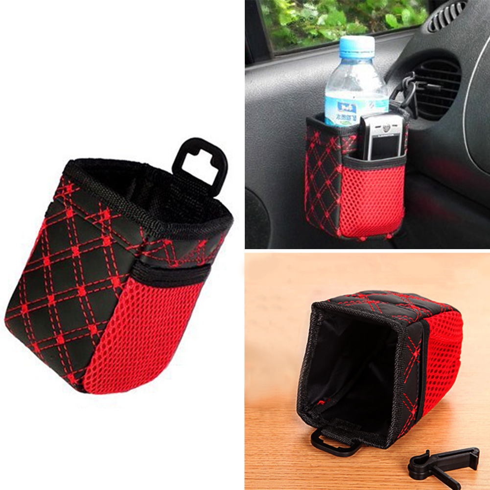 Car Storage Bag Mobile Phone Autos Interior Organizer Vehcile Inside Hanging Bags Cars Decoration Holder Accessory 6 5 7 12cm in Stowing Tidying from Automobiles Motorcycles