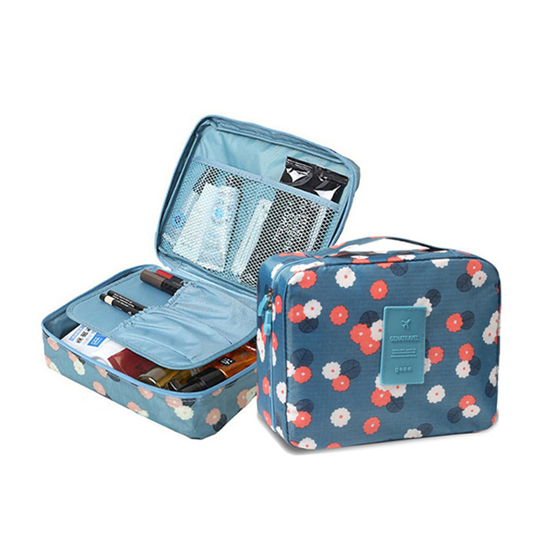 Multifunctional Cosmetic Bag Ladies Makeup Beauty Bag Cosmetics Nylon Bag Cosmetic Storage Bag Travel Wash Bag