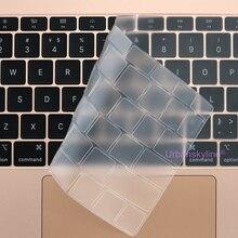 Keyboard Cover for Macbook Air 13 M1 11 Pro 13 16 Touch Bar ID 15 17 12 Retina Silicone TPU Protector Skin EU A2179 A2337 A2338
