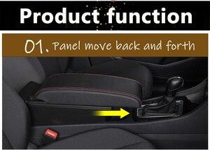 Image 2 - Per Suzuki Vitara box bracciolo auto universale center console caja accessori di modifica del doppio sollevato con USB