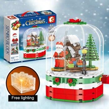 Decoración navideña de Navidad para niños, caja de música para el hogar,...