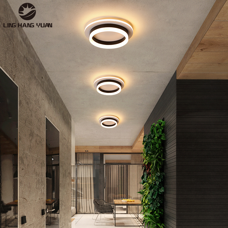 Led Ceiling Lights For Bedroom Living Room Aisle Lights Metal Corridor Stairway Ceiling Lamps Lustre Indoor Home Lighting Ceiling Lights Aliexpress