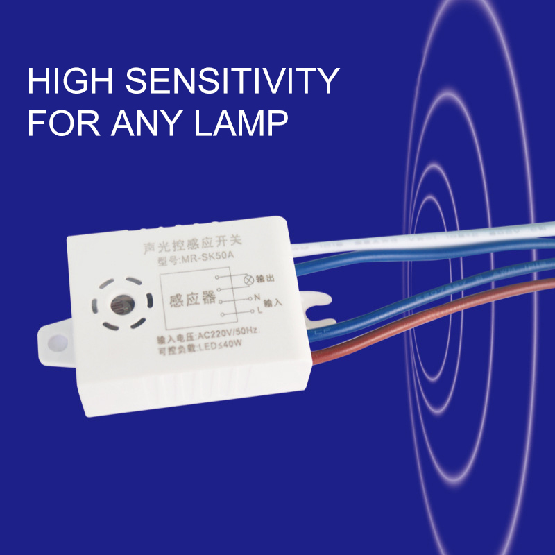 High Technology Intelligent Sound Voice Sensor Light Switch 220V Module Detector Automatic On Off Power Saving Assistant